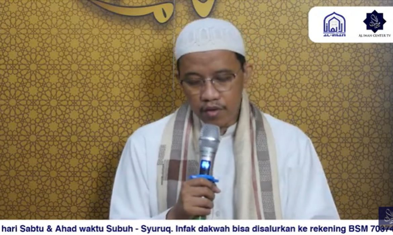 Kajian Shubuh, Kitab Minhajul 'Abidin, Ustadz Fauzi Bahreisy, Ceramah Agama